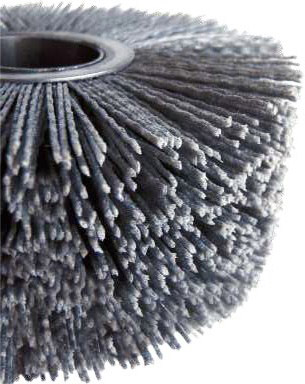 Roller in Abrasive Nylon for aluminum