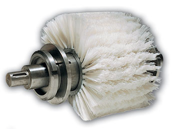 Brosse cylindrique interchangeable