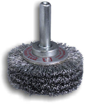 Crimped wire wheel brush GG for Drill