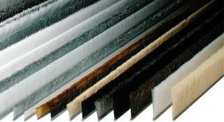 industrielle b rstenleisten streifenb rsten base 10 13 14 und 19 f r zargen tore und. Black Bedroom Furniture Sets. Home Design Ideas