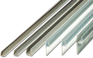 Support tapes in steel and stainless steel
