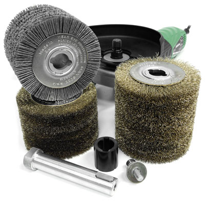 Rollers for Flex brushing machines