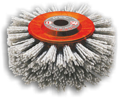 Punched Rollers In Abrasive Nylon For Wood Industrial