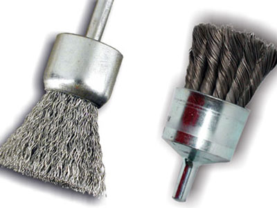 Brushes and end brushes for drill
