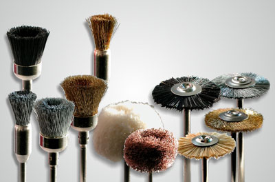 Set of mini brushes
