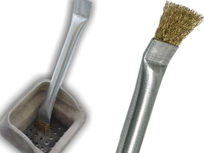 Cleaning Rods And Brushes For Deburring Flue Brushes