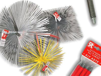 Escobillas y cepillos para el desbarbado limpieza for Cepillo deshollinador chimeneas